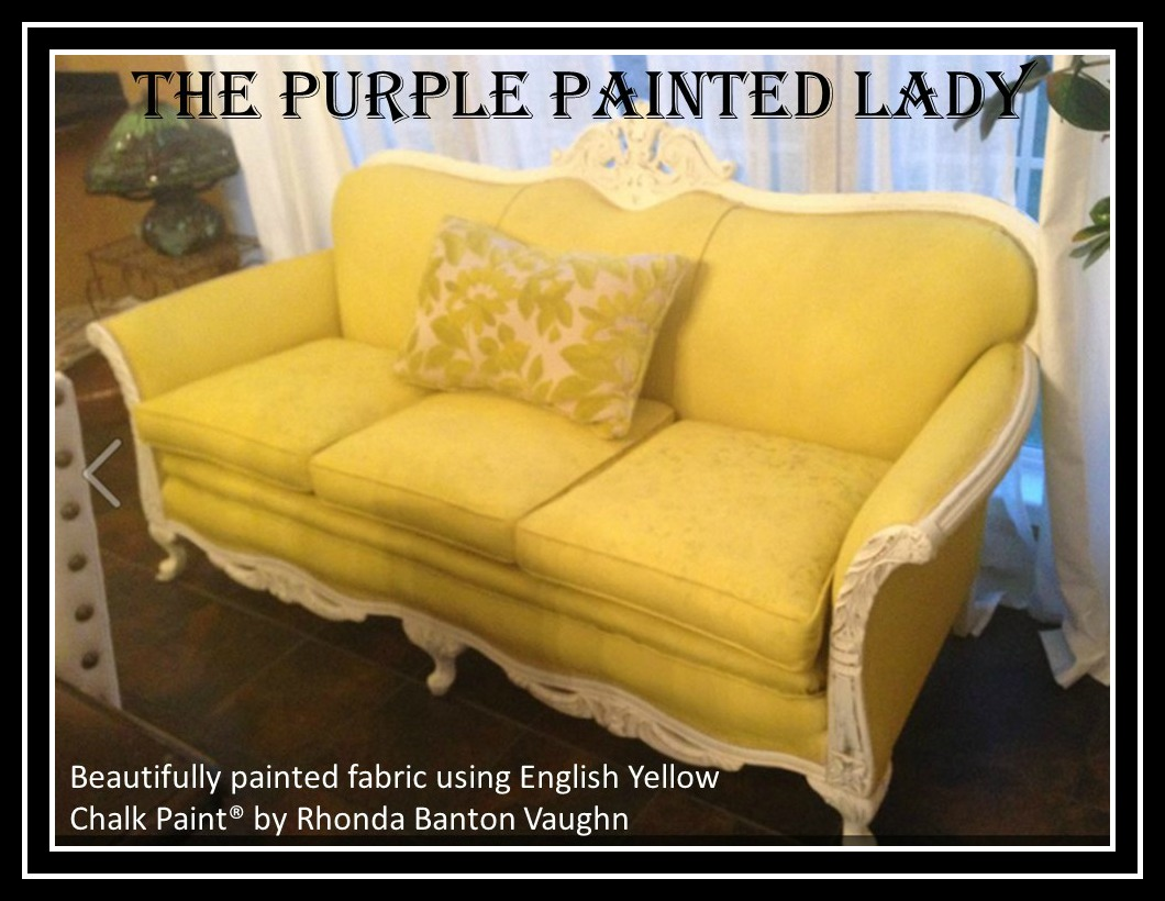Using Chalk Paint 174 To Paint Your Couch Or Wing Back Chair