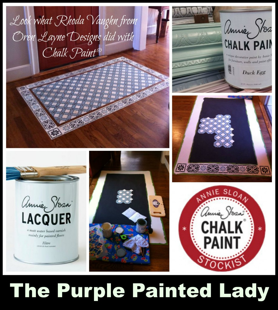 Painting A Linoleum Floor And …..
