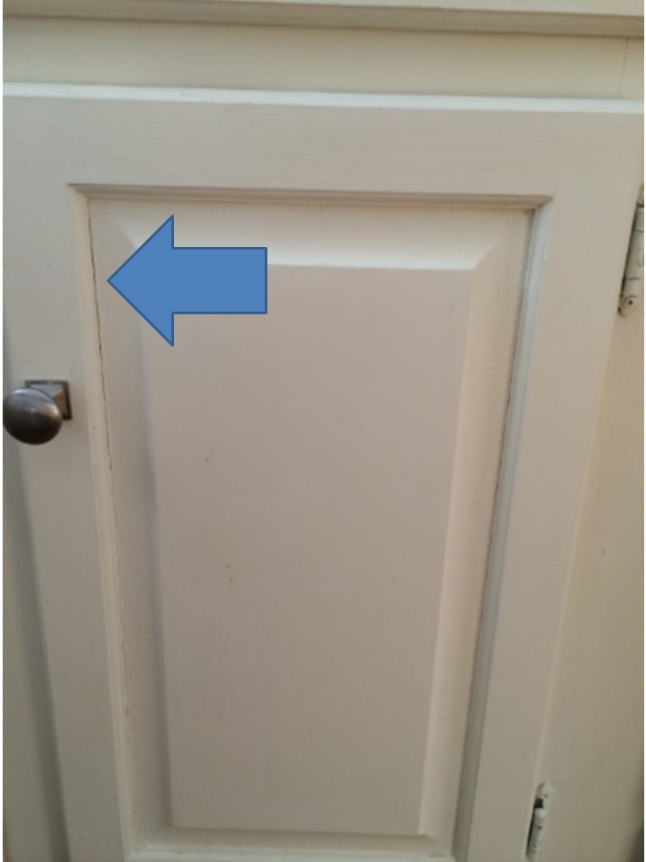 Painted Wood Cabinets Cracks